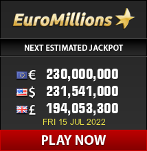 Euromillions lottery affiliate banner