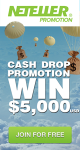 Neteller November 2014 Cash Drop Promotion
