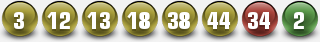 PLAYLAPRIMITIVA WINNING NUMBERS FOR 13 SEP 2014 (SATURDAY)