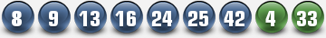 PLAYOZLOTTO WINNING NUMBERS FOR 25 NOV 2014 (TUESDAY)