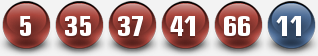 PLAYUSAMEGAMILLIONS WINNING NUMBERS FOR 21 OCT 2014 (TUESDAY)