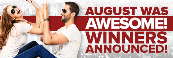 Awesome August competition at PlayHugeLottos.com