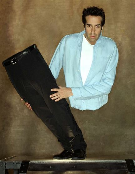 David Copperfield, magician