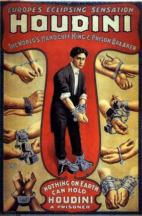 Harry Houdini, magician