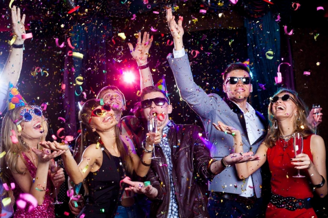 Celebrate winnng the EuroMillions Superdraw