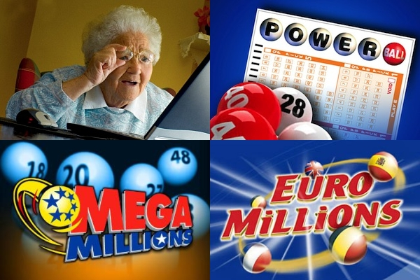 mega millions, euromillions, powerball lottery online
