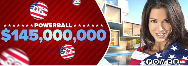145 million Powerball jackpot, US Powerball, big lotto jackpot