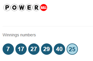 17.02.2016 Powerball results