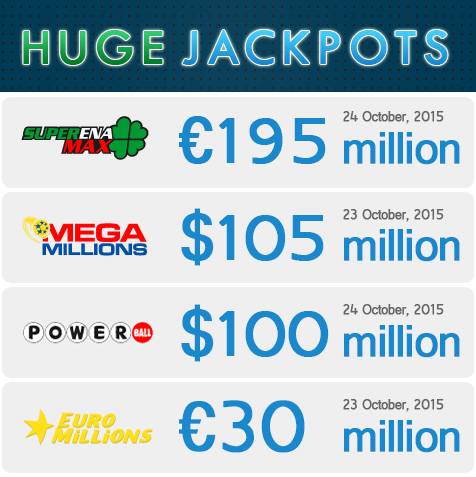 Huge Jackpots, big lotto jackpots