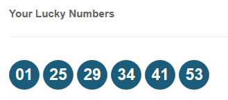 Cancer lucky lotto numbers