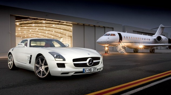 Celebrity Millionaire, prinate jets and supercars