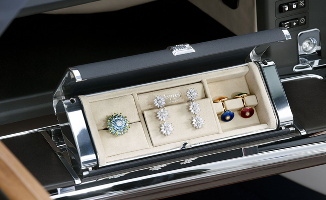 Custom jewellery box in Rolls-Royce