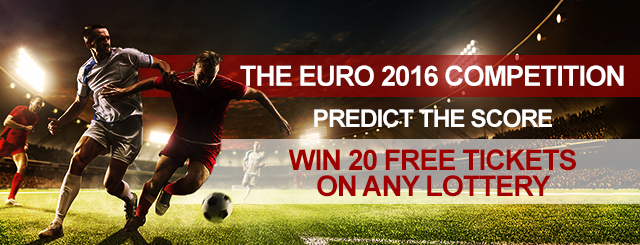 Euro 2016 Predict The Score And Win Free Lottery Tickets