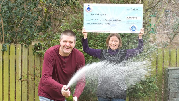Facebook syndicate win on EuroMillions