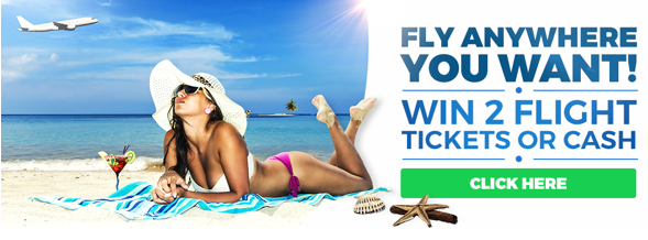 The Sky's The Limit competition, win 2 flight tickets to anywhere in the world