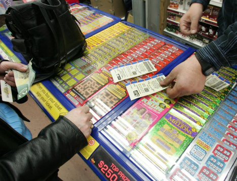 lottery tickets, lottery scratchers, lottery vendor, lottery queue