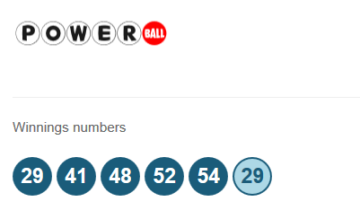 Powerball results for the 13th June 2015