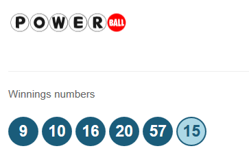 Powerball lotto results for the 20th June 2015