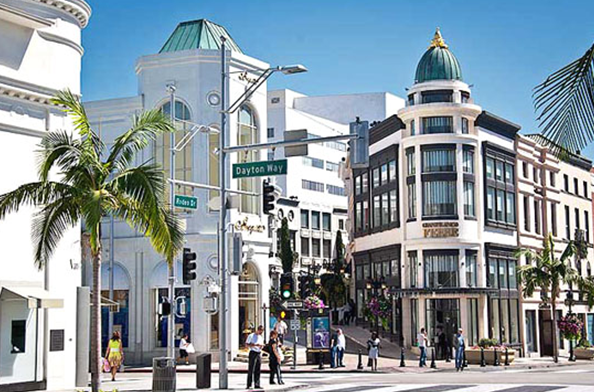 Rodeo Drive, shopping spree
