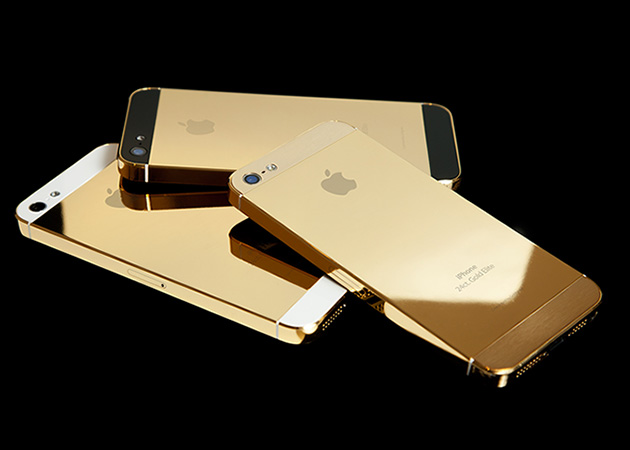 Solid Gold iPhone
