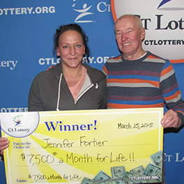 lottery winner jennifer fortier