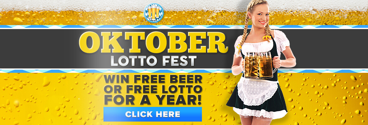 Welcome to Oktober Lotto Fest at PlayHugeLottos.com!