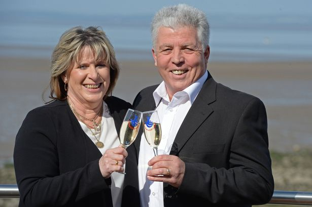 denise and robert scarr uk lottery winners