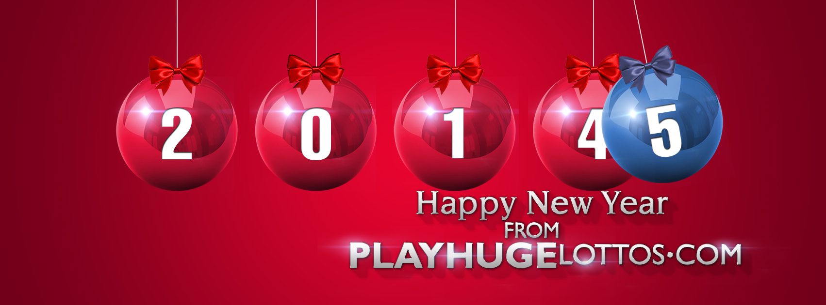 Happy New Year from all of us at PlayHugeLottos.com!