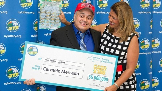 New York Lottery Winner