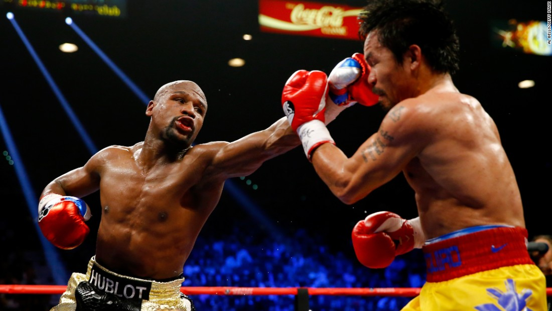 Manny VS Mayweather