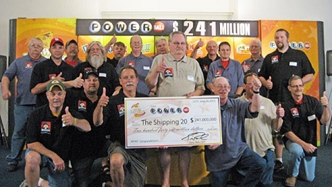 the shipping 20 powerball winners