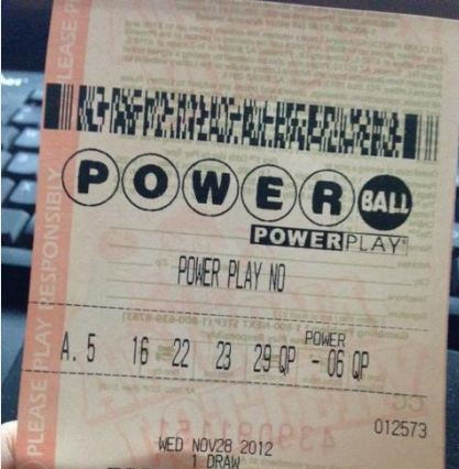 powerball winning ticket
