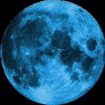 Lucky Blue Moon