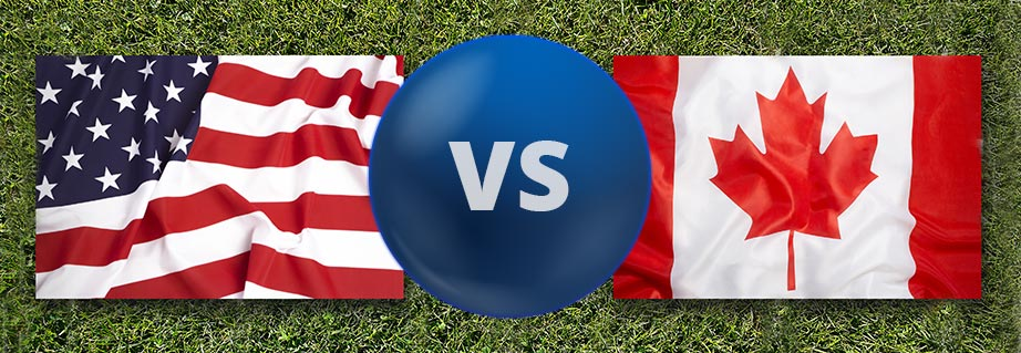 American vs Canadian Lotteries Online