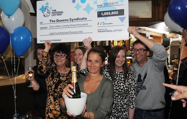 EuroMillions Lotto Syndicate Winners