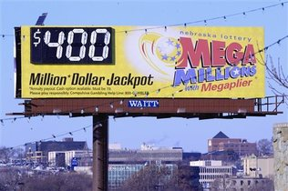 Mega Millions advert