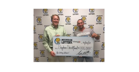 Stephen Wins $100,000 On Powerball