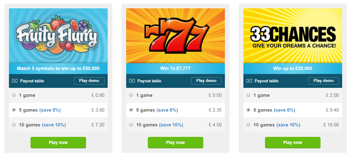 play scratch cards online now