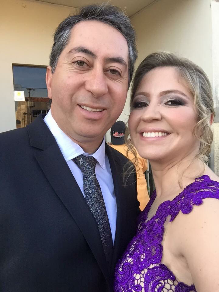 Mr. Luis and his lovely wife