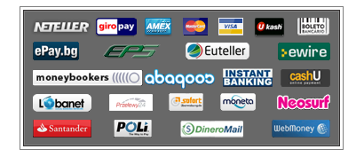 Payment methods at PlayHugeLottos.com
