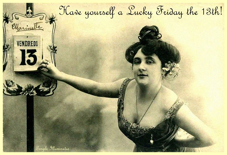 Making Friday The 13th Your Luckiest Day